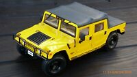 Maisto 1/18 Hummer Soft Top Humvee 4x4 Off Road Civil Jeep Toy Car Collectible