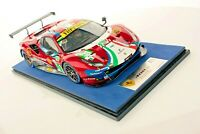 Ferrari 488 GTE EVO No.51 AF  Corse completa di base e vetrina scala 1/18