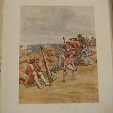 antique song sheet AT THE SIEGE OF BELLE ISLE  picture  Earl of Carlisle 1910