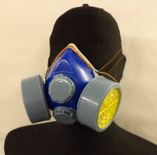 Cubrepolvo Respirador protección Pintura lijado Twin Safety Car Reparaciones Filtro