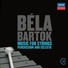 BELA BARTOK - Music for Strings, Percussion & Celesta (classical) CD [A576]