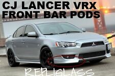MITSUBISHI LANCER CJ VRX FRONT BAR PODS SEDAN AND SPORTS BACK HATCH FIBREGLASS