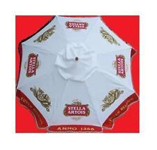 STELLA ARTOIS ANNO 1366 LEUVEN BELGIUM BEER PATIO UMBRELLA MARKET STYLE NEW HUGE
