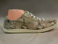 Born Womens Ilisha Snakeskin Printed Suede Fashion Sneakers Womens Size 9.5