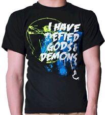 Joystick Junkies 'I Have Defied Gods & Demons' Adult XL T-Shirts - REDUCED
