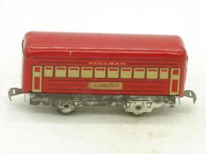 Marx Trains Red Pullman Coach Bogota Zinc Frame with Twist Tab Couplers #2