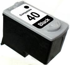 1PK FOR CANON PG40 PG-40 PG 40 0615B002 Black PIXMA MX300 IP1600 MP150 MP210