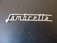 vecchio BADGE originale LAMBRETTA ''LAMBRETTA'' stemma