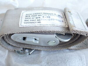 Aircraft Seat Belt NEW FDC 2700-55-3 hellicopter BELL 204 204-070-032-3