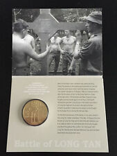 New Mint Uncirculated Long Tan 50th Anniversary $5 Coin Mintage Only 15000