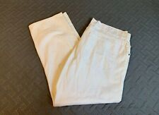 Vintage Blue Marithe Francois Girbaud Authentic White Pants Relaxed Men 42x30