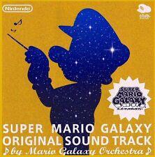 Club Nintendo Super Mario Galaxy Soundtrack Gold CD ost