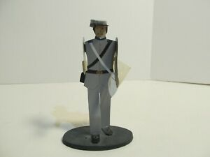 Confederate Soldier Shadowdancer Folk Art Figurine by Edna Oar Young New