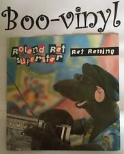 Roland Rat Superstar – Rat Rapping (Rodent Records, Rat 1) [7� Vinyl] Ex+ Con