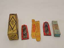 Antique Ephemera Glue & Rubber Cement & Boxes 32460