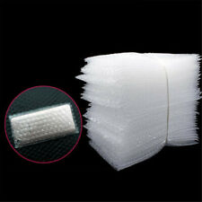 100pcs Clear Bubble Bags Wrap Cushioning Protective Pouches Self Seal Pouch Bag