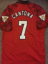 Manchester United Vintage 1996/97 maglietta adulti (L) 7 CANTONA