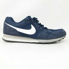 Nike Mens MD Runner 2 749794-410 Blue White Running Shoes Lace Up Size 11
