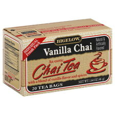 BIGELOW TEA CHAI VANILLA 20BG 1.64 OZ (Pack of 6)