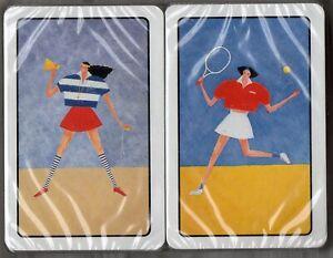 #N.021 Vintage Swap / Playing Card SEALED DECK, HUSTLER Sporty Girls double deck