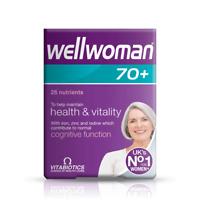 Vitabiotics Wellwoman 70+ - 30 Tablets Health & Vitality Cognitive Function
