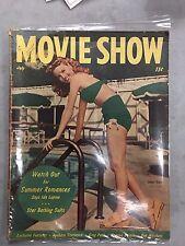 MOVIE SHOW JULY 1947 JANET BLAIR IDA LUPINO AND MORE