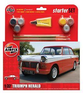 Airfix Model kit #55201 1/32 Triumph Herald Gift/Starter Set