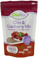 Chia Bia Milled Chia Seed & Cranberry Mix 100g
