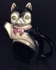 Vintage Cortendorf Cat Kitten Tea Pot West Germany Adorable!! Crazing No Damage