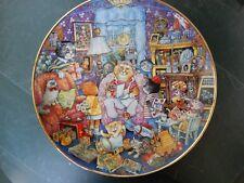 Vintage Franklin Mint Bill Bell Purrfect Mom Porcelain Collectors Plate La1623
