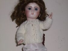 """Sale No Doll Cardigan Made 4 Loulotte Doll 9.5"""" 100% Virgin Wool 2 For $27.00"""