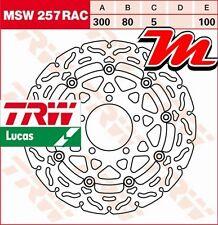 Disque de frein Avant TRW Lucas MSW 257 RAC Kawasaki ZX-6R 600 Ninja ZX600R 09-
