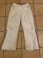 Woman's Snowboarding pants  Color: White / size 6/8. European Size: 36/38