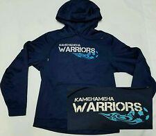Kamehameha Schools Warriors SOCCER Hoodie Sweatshirt Hawaii - Medium M - EUC!