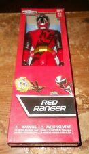 "2016 bandai power rangers ninja steel red ranger 12"" figure in the box new"