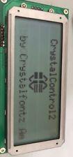 Crystalfontz Cfa634yfh Ks Lcd Panel Display Rs 232 Db9 Connector