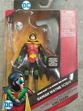 "Batman Robin 6"" Figure 2016 Damian Wayne DC Comics Mattel Justice League MIB War"