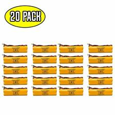(20 pack) 4.8v 650mAh Ni-CD Battery Pack Replacement for Emergency / Exit Light