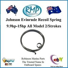 A Brand New Evinrude Johnson 9.9hp-15hp 2/stroke Recoil Spring # 318944