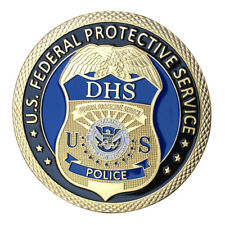 U.S. Federal Protective Service GP Challenge coin 1418#