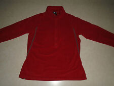 Nike ACG All Conditions Gear Therma Fit Womes Soft Red Fleece Layer Size Small