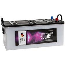 Solarbatterie 12V 140AH trocken vorgeladen Versorgungsbatterie Batterie