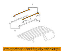 GM OEM Roof Rack Luggage Carrier-Side Rail Right 25875986