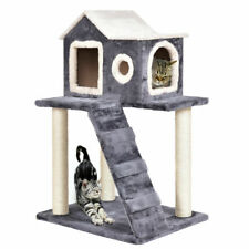 "36"" Cat Tree Kitten Activity Tower Furniture Room Condo Scratching Posts Ladder"