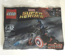 LEGO 30447 Captain America's Motorcycle polybag
