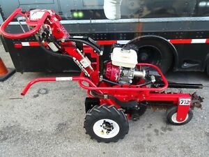 BARRETO Trencher 712-MT Self Propelled Honda Hydraulic