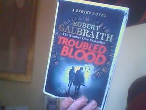 Troubled Blood Cormoran Strike 5-Robert Galbraith Hardback English Sphere 2020