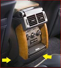 Rear passenger console vent Range Rover L322 07-12 interior black FJV500570pva