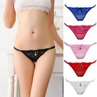 Hollow  Transparent Lace Briefs Sexy Panties  Underwear Thongs Knickers