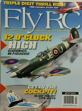 Fly RC April 2017 12 O Clock High Warbirds in Paradise Electric FREE SHIPPING sb